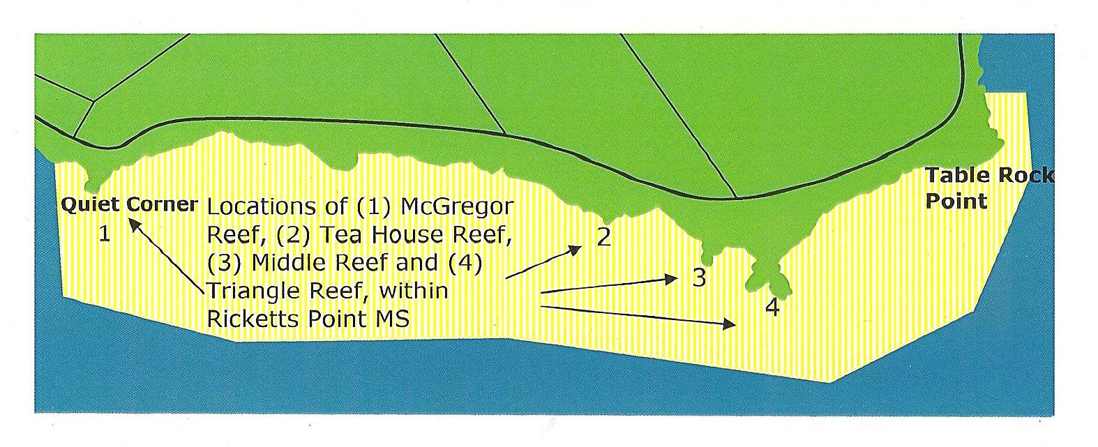 Ricketts Point Locations