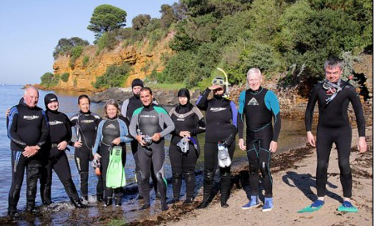 Snorkelling Fossil Beach